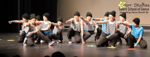 Hip hop dance recital