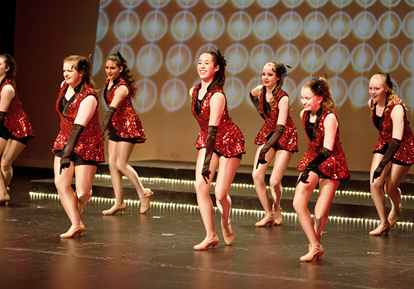 Tap dance recital